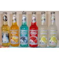 ALCOPOPS Alcoholic Beverages: 5. 5% Alc. Vol. in 275ml bottles, sparkling and flavored