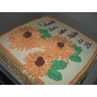 AsBisma Sunflower cake