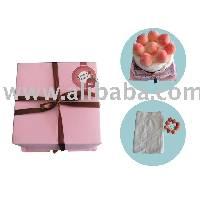 Joyce Peach Towel Cake (Small)
