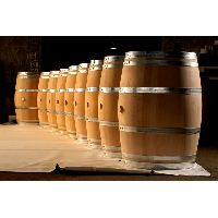 Oak barrels for wine