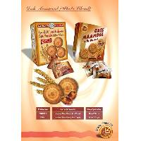 Mamoul (cookie) snack - Whole wheat with Date filling