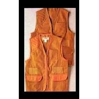 Duck  Solid Brown Hunting Vest