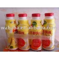 Wahaha Nutri-Express Milk and Fruit Juice Soft Drink Pineapple Flavor 280ml X 20 Bottles