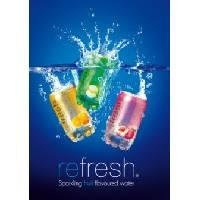 Refresh Sparkling Flavoured Water