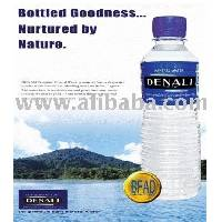 "bottled Mineral water ""Denali"""