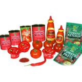 Spicy Food and Seasonings (Garlic Ginger, Chili, Sauce)