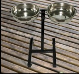 Stainless Dog Bowl Pet Food Feeder