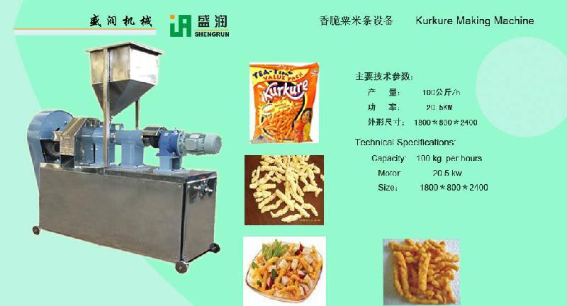 kurkure making machine