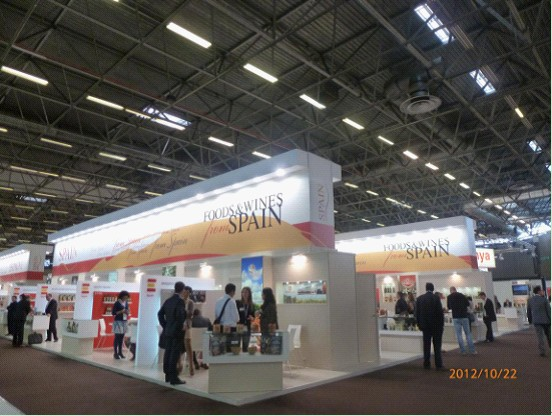 Exhibition Booth In Spanish : We topservice again showed up in sial france food