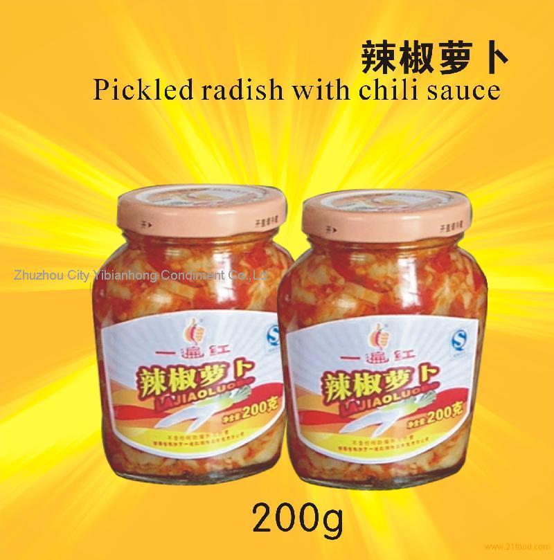 radish with chili sauce products,China Pickled radish with chili sauce ...