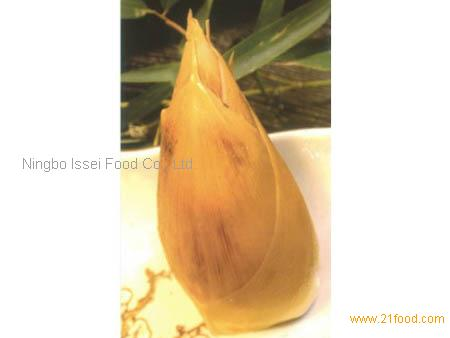 bamboo shoots in shell