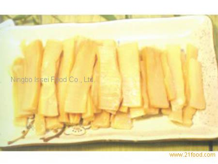 bamboo shoots seasoned