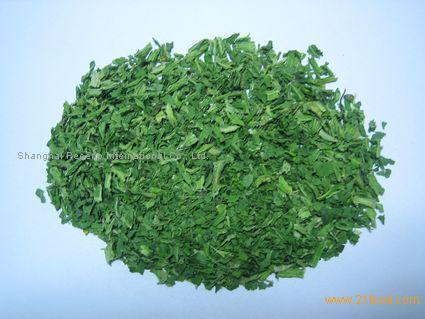Dehydrated Spinach leaf