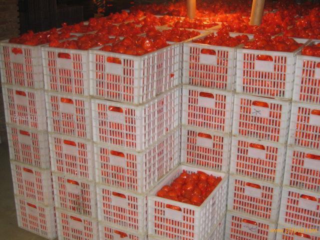 Honey mandarin in carton