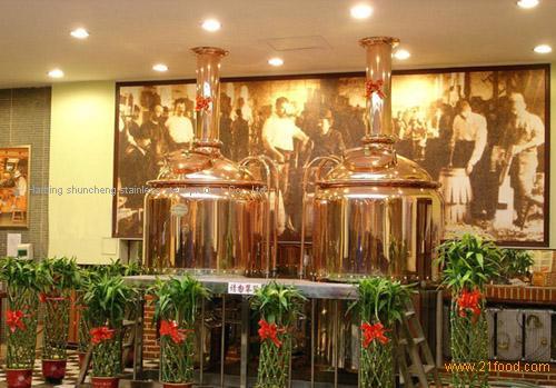100/L beer equipment
