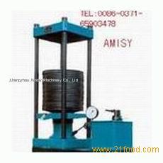 Manual two-stroke hydraulic oil press