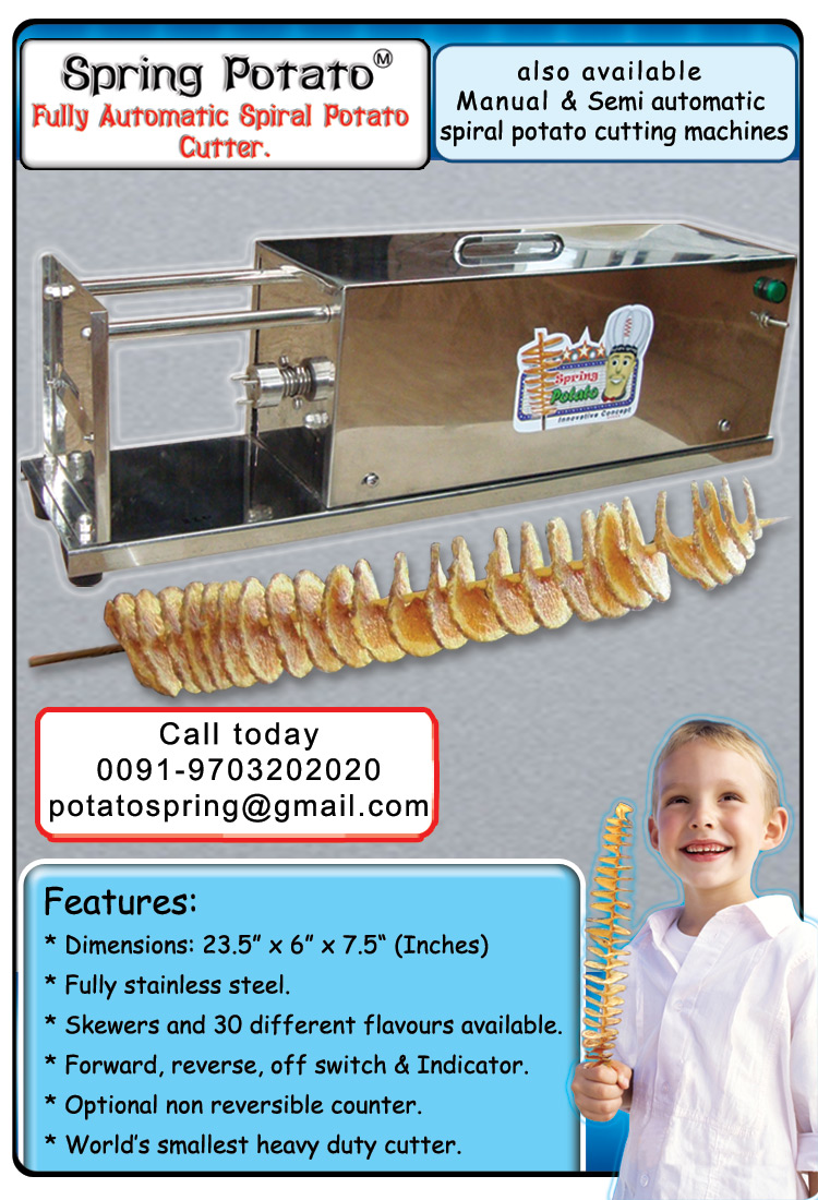 twisted chips machine