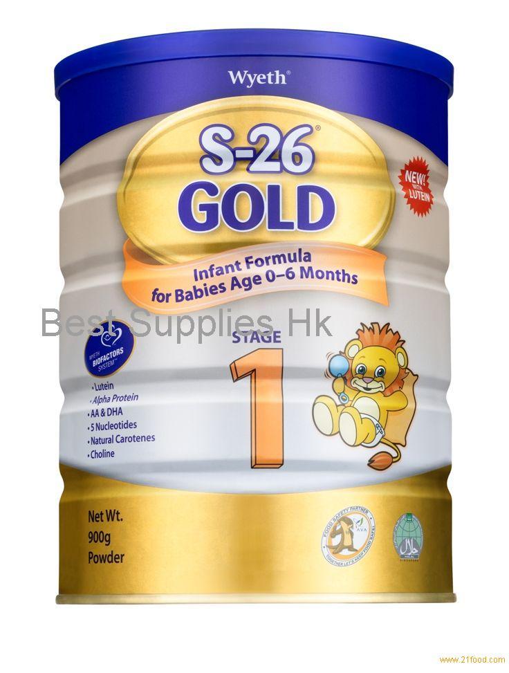 Milk Powder Wyeth S26 Gold From Hongkong Selling Leads