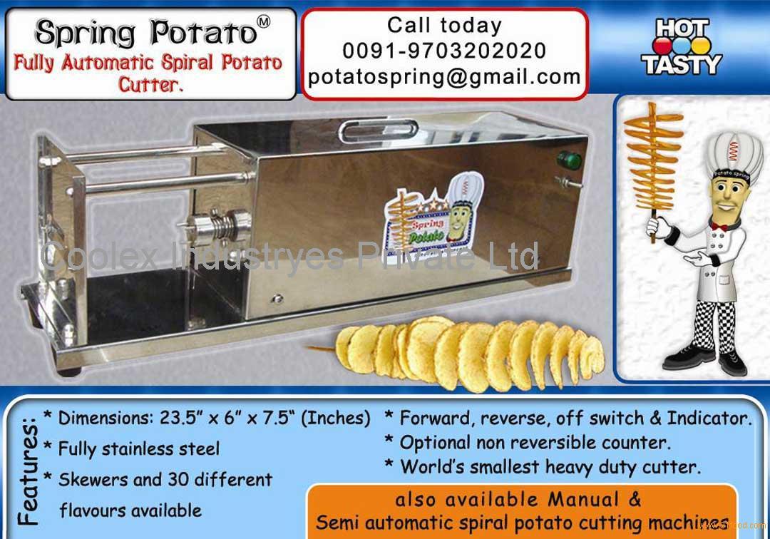 Ribbon fries potato slicer
