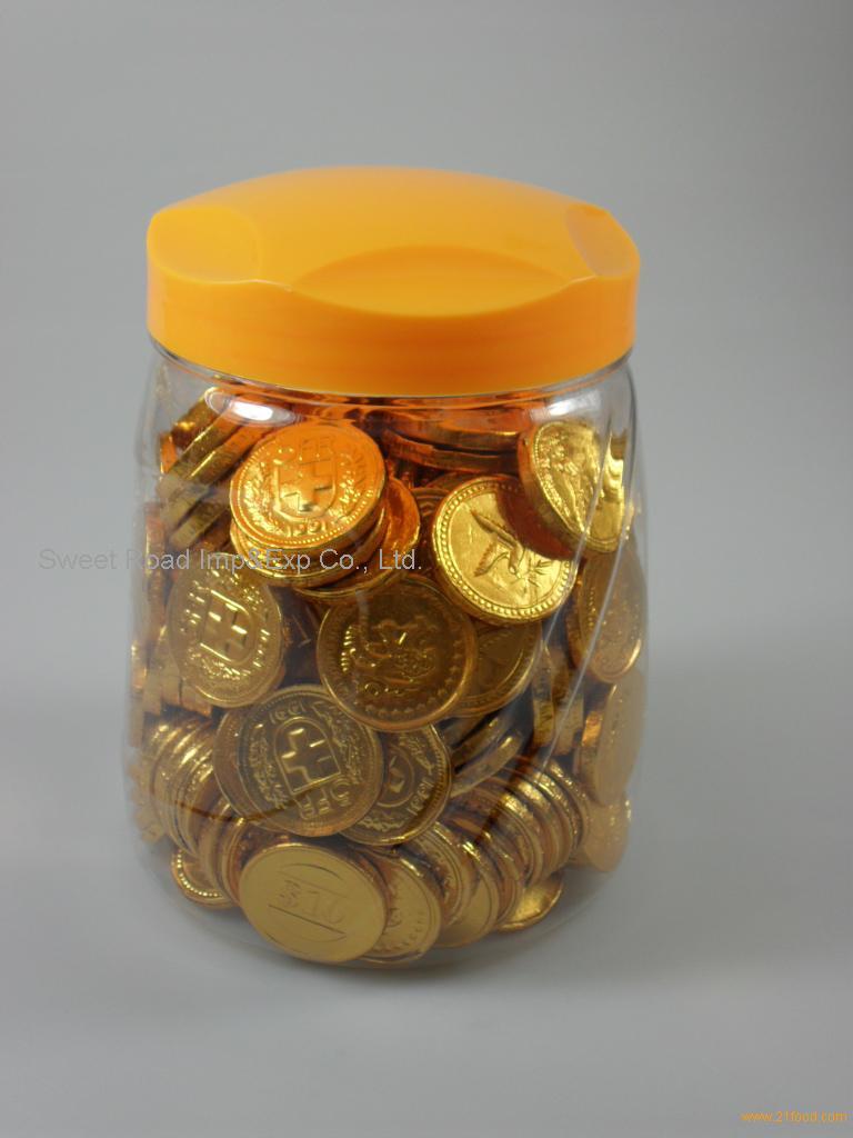 Gold Coin Chocolates - Pumpkin Chocolate Chip Cookies