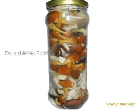 CANNED MIXED MUSHROOM 580ML