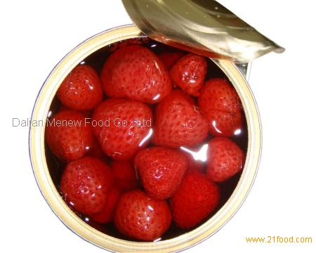 CANNED STRAWBERRY 410g