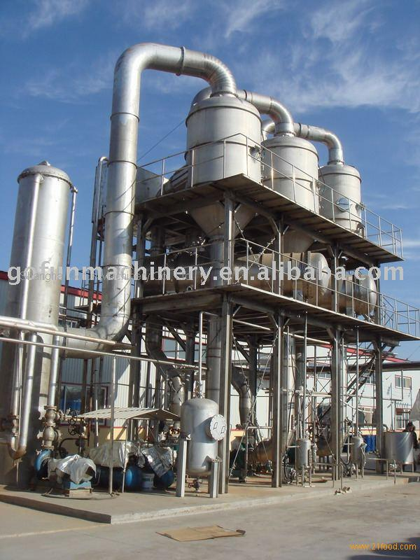 Fruit Paste Evaporator