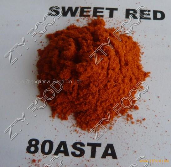 sweet red paprika powder (60asta)