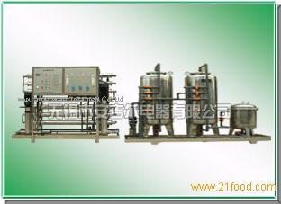 Water equipment for delicatessen industry /Industrial ultra pure water