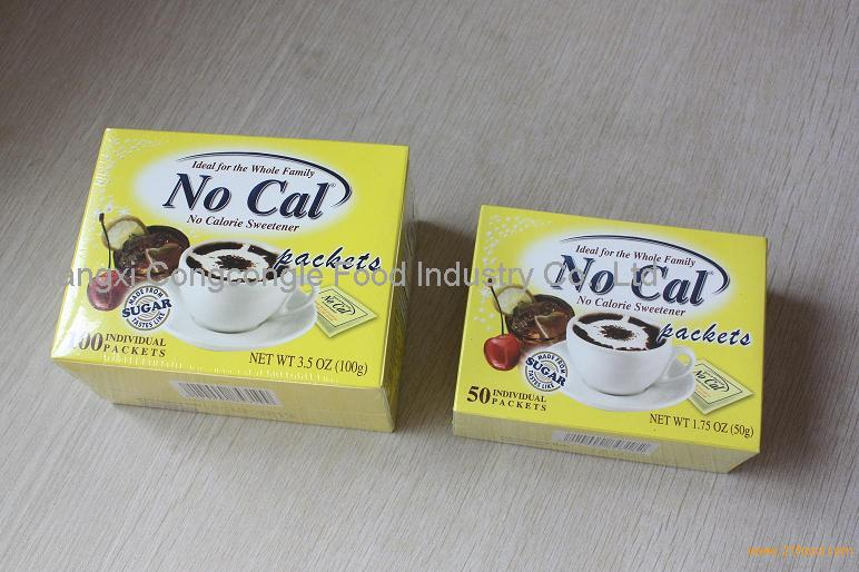 no calories sweetener