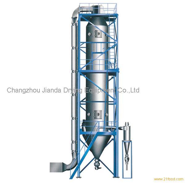 Spray Dryer Drawing Granulating Spray Drier