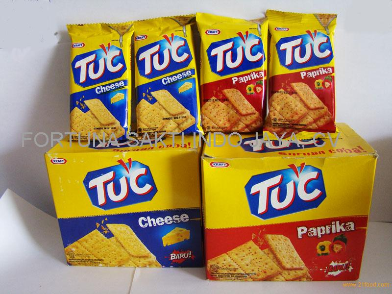 Tuc Crispy Cracker Biscuit By Kraft Products Indonesia Tuc