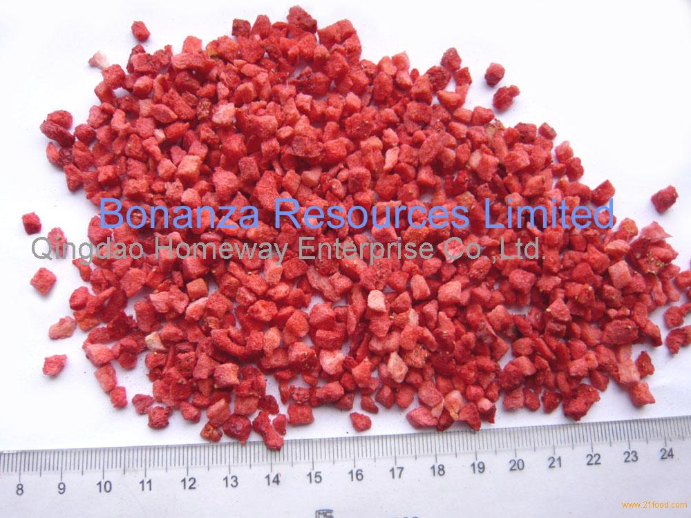 Freeze Dried Strawberries Esophagus Freeze Dried Strawberry Pieces