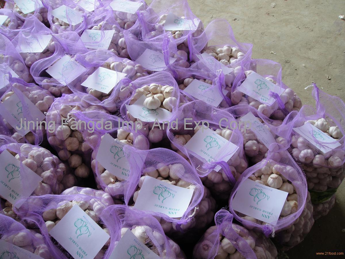loose mesh bag pack garlic