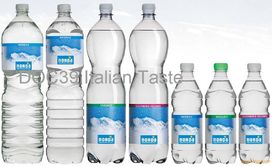 norda natural mineral water clear pet products italy norda natural