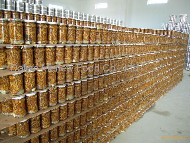 Canned Marinated Nameko 550ML