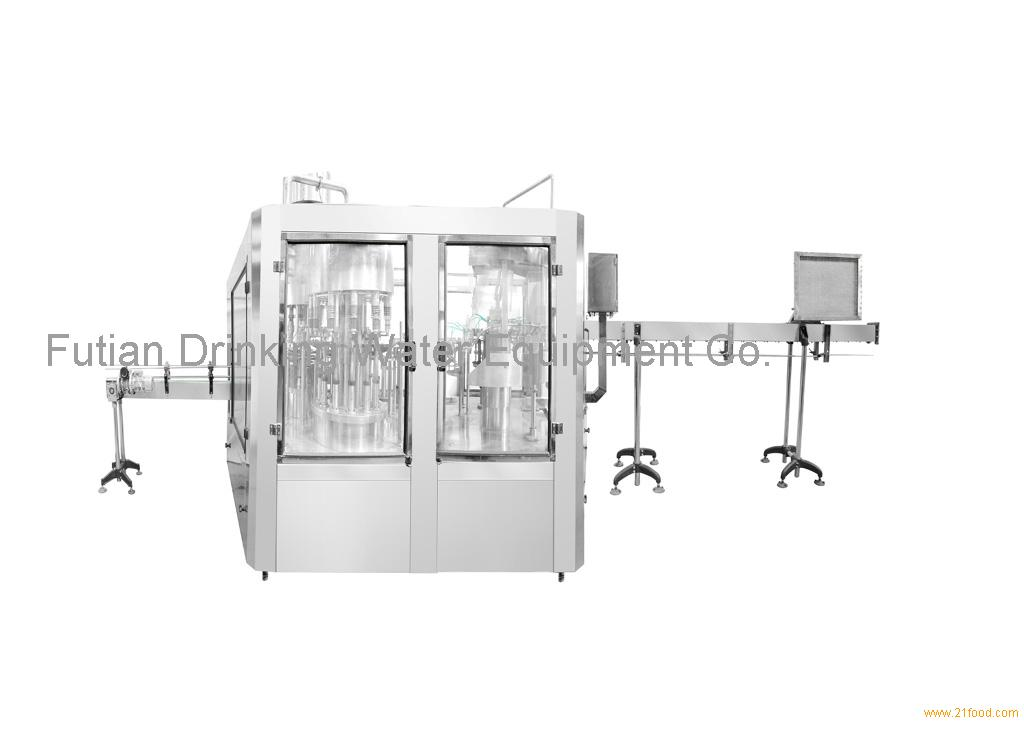 3 in 1 small bottle washing filling & capping machine