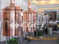 Hotel beer brewing equipment
