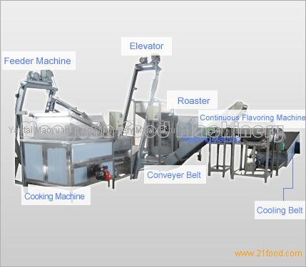 Jessica 3000 Machine http://www.21food.com/products/spiced-peanut-production-line-145739.html