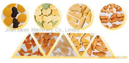 Bugles 3D Extrusion Food Processing Line