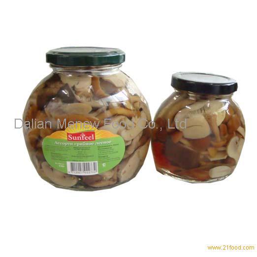 canned mixed mushroom 580ML*12