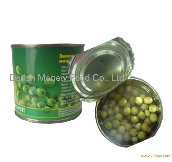 Canned Green Peas 425mlx24tins/ctn