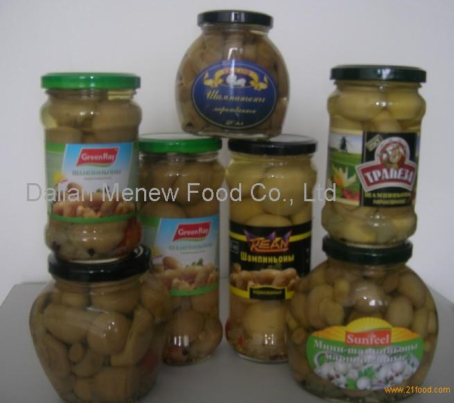 Canned Mushroom Champignons