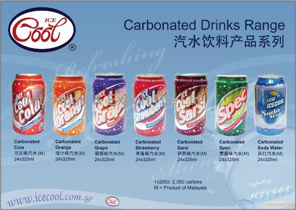 Soft Drinks (Cola, Orange, Grape, Lemon-Lime, Strawberry, Sarsi, soda water)