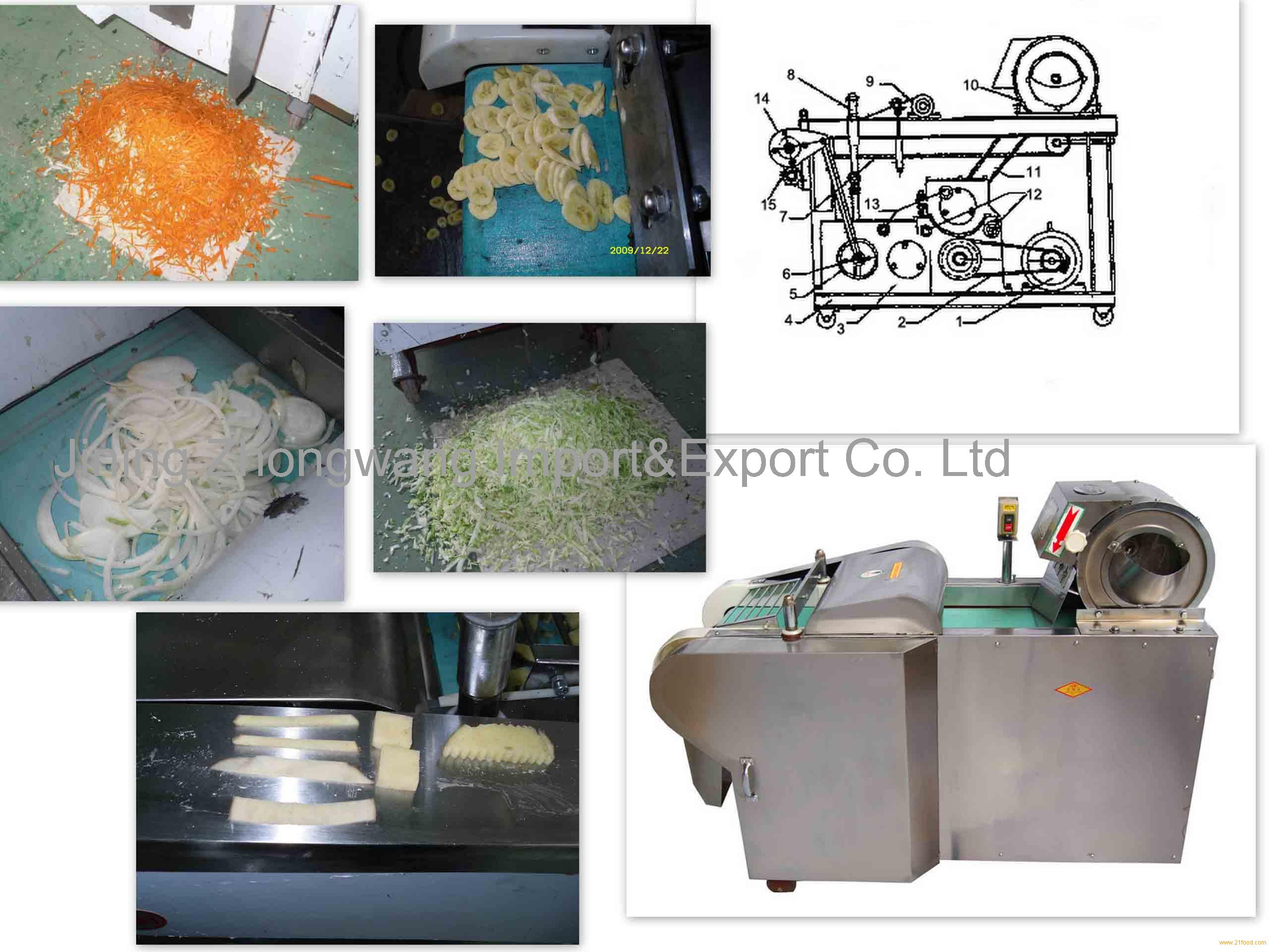 plantain slicing machine