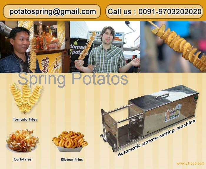 Mesin pemotong kentang
