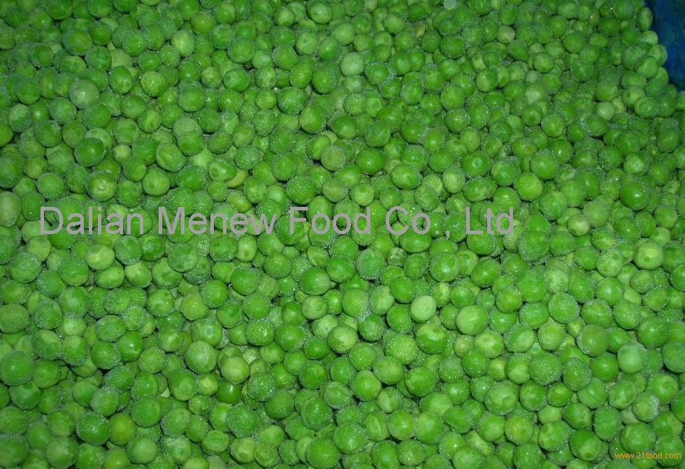 Istant Quick Frozen Green Peas IQF 10kg/ctn