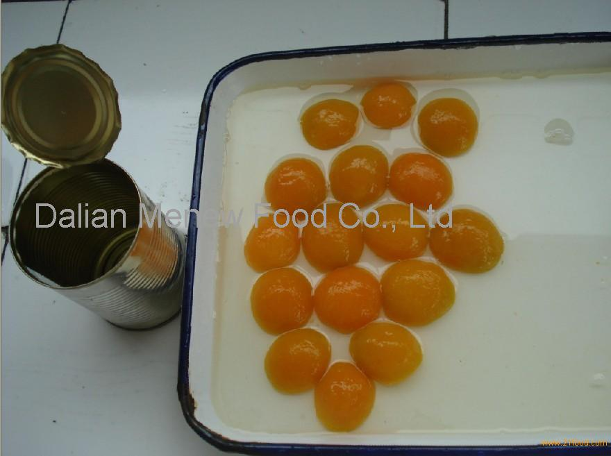 Canned Apricot halves golden sun in syrup 425ml,dw230g