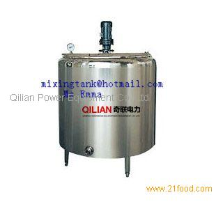 Double Layer Heating Mixing Tank Products China Double