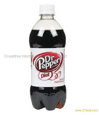 Diet Dr. Pepper, 20-Ounce PET Bottles